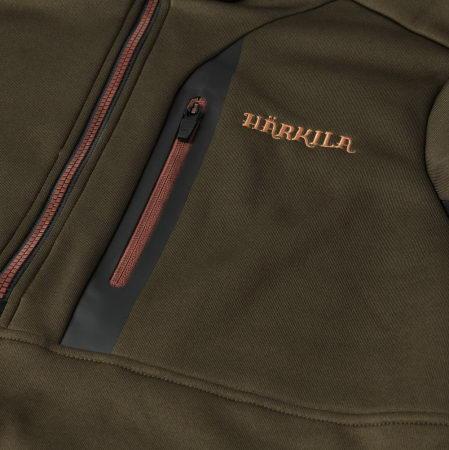 Jacheta Tidan Hybrid half zip fleece  Härkila