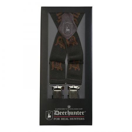 Bretele cu Logo si clip Deerhunter