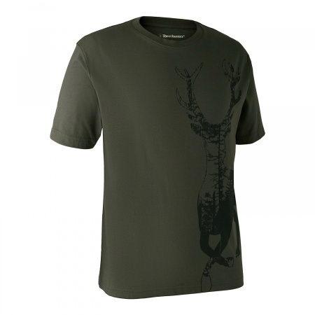 Tricou print cerb Deerhunter