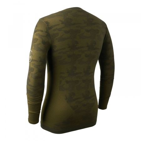 Bluza de corp camou din lana