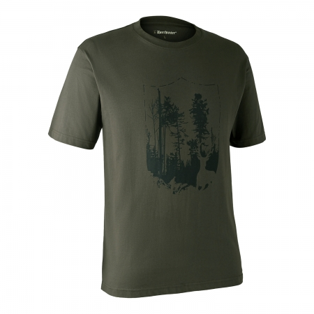 Tricou  cu Shield Deerhunter